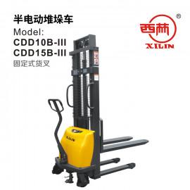 西林XILIN半电动堆高车 CDD15B(2.5M)