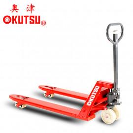 奥津OKUSTU手动液压搬运车地牛托盘车2.5吨