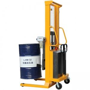 DT500半电动油桶堆高车